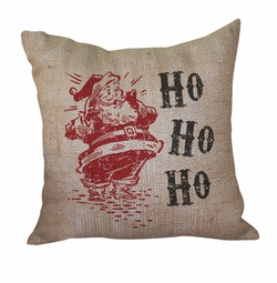 Vintage Santa Pillow <font color=a8bb35> Discontinued</font>