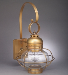 Wall Mount Onion Light Fixture with Galley