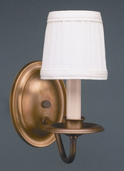 Wall Sconce One Arm with Lampshade