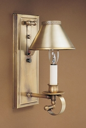 Wall Sconce with Metal Shade