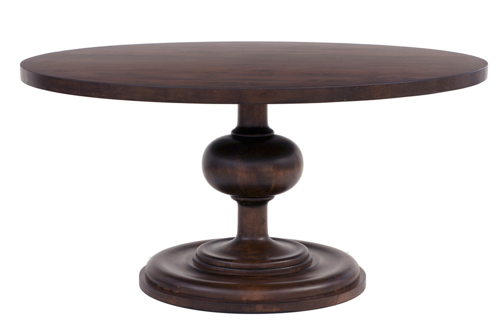 wallace round dining table in two sizes for sale cottage bungalow