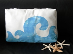 Waves Poolside Pillow