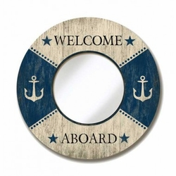 Welcome Aboard Mirror