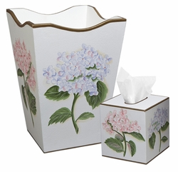 Pink and Blue Hydrangea Bath Set<font color=cf2317> Discontinued</font>