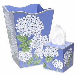 White Hydrangea Bath Set <font color=cf2317> Discontinued</font>