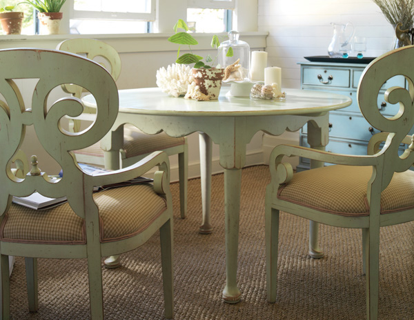 Wrightsville Breakfast Dining Table For Sale Cottage