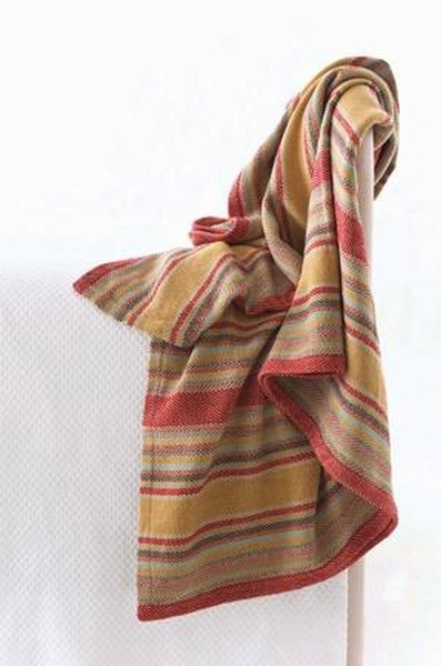 Dash and albert wyatt woven throw for sale cottage for Dash and albert blanket