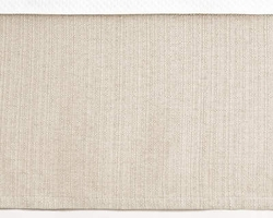 "Zen 18"" Tailored Bedskirt in Natural or Ivory<font color=cf2317> 20% Off</font>"