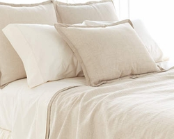 Zen Natural Coverlet