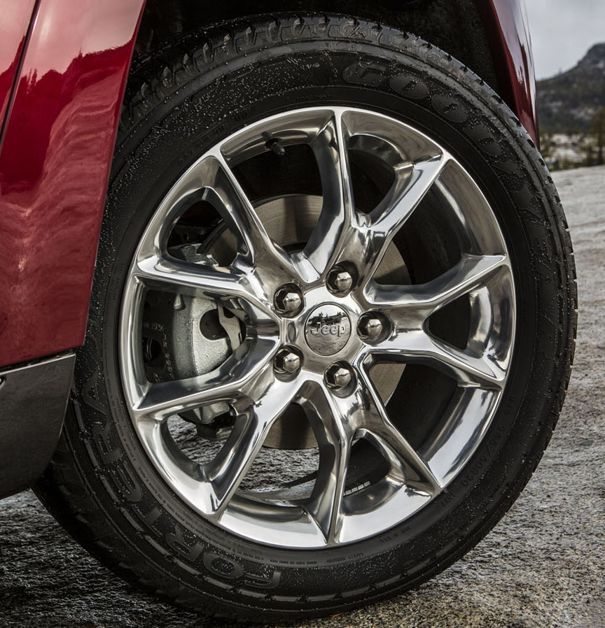 2014 jeep grand cherokee summit tires
