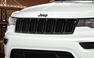 Grill Rings Gloss Black Grand Cherokee 2017 2018