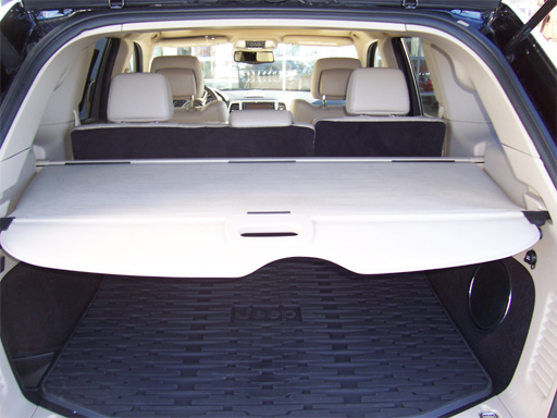 jeep grand cherokee cargo area security cover for 2011 2017 grand cherokee item 1gh14bd3ab. Black Bedroom Furniture Sets. Home Design Ideas