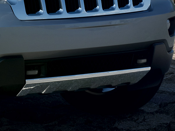 Jeep Grand Cherokee Chrome Bumper Trim Item 68078286ab