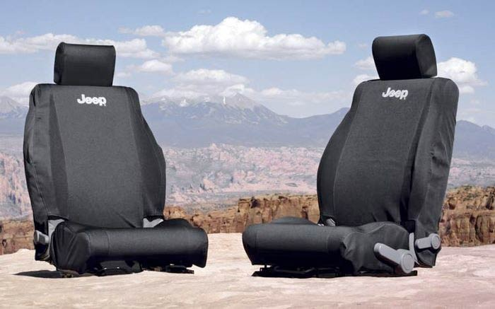 Jeep Wrangler Front Seat Covers