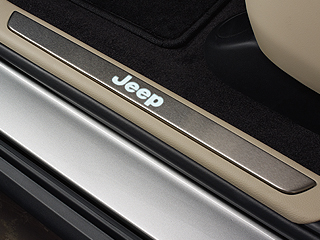 Illuminated Door Sill Guards & Jeep Grand Cherokee Illuminated Door Sill Guards - Item # 82212120 ...