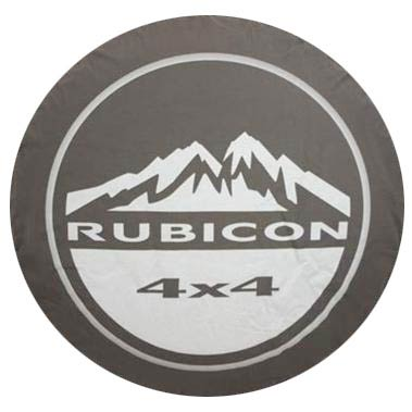 Jeep Rubicon 4x4 Tire Cover