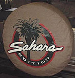 Jeep Sahara Logo Tire Cover