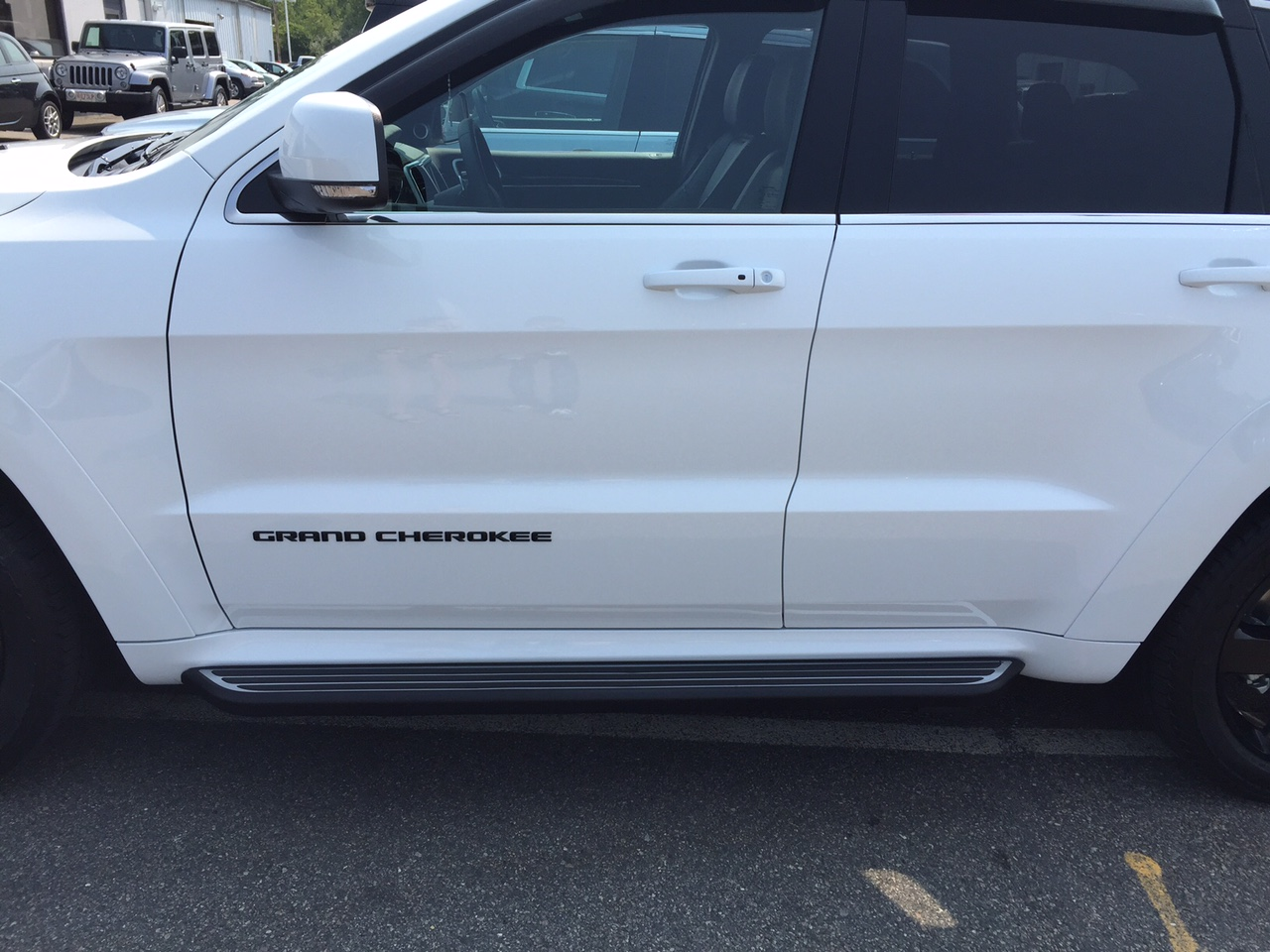 side step running boards for jeep grand cherokee, item