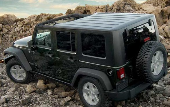 Jeep Wrangler Hard Top for Sale - Mopar #82212541 & #82212527 ...