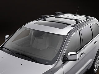 Removable Roof Rack Cross Rails