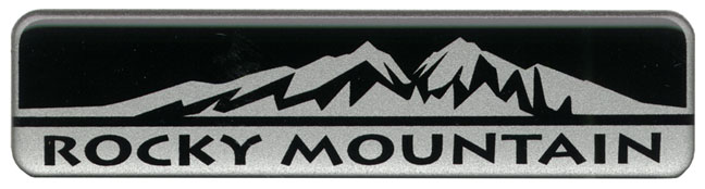 Rocky Mountain Badge Decal 55157022ab