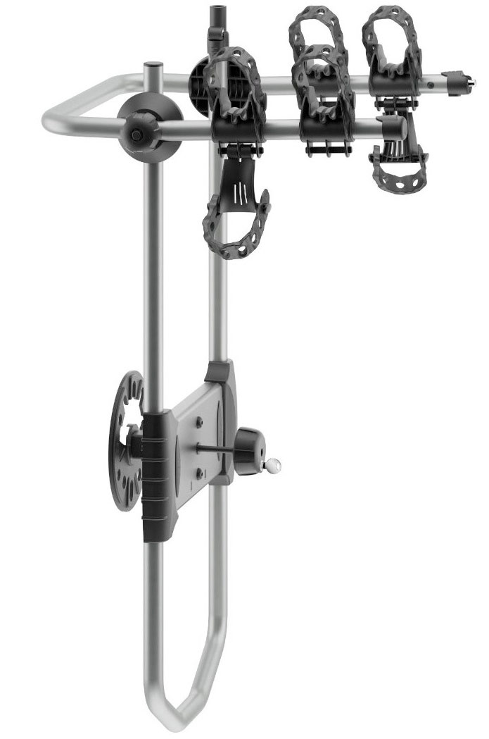 thule bicycle spare me 963 tire mount for jeep wrangler or