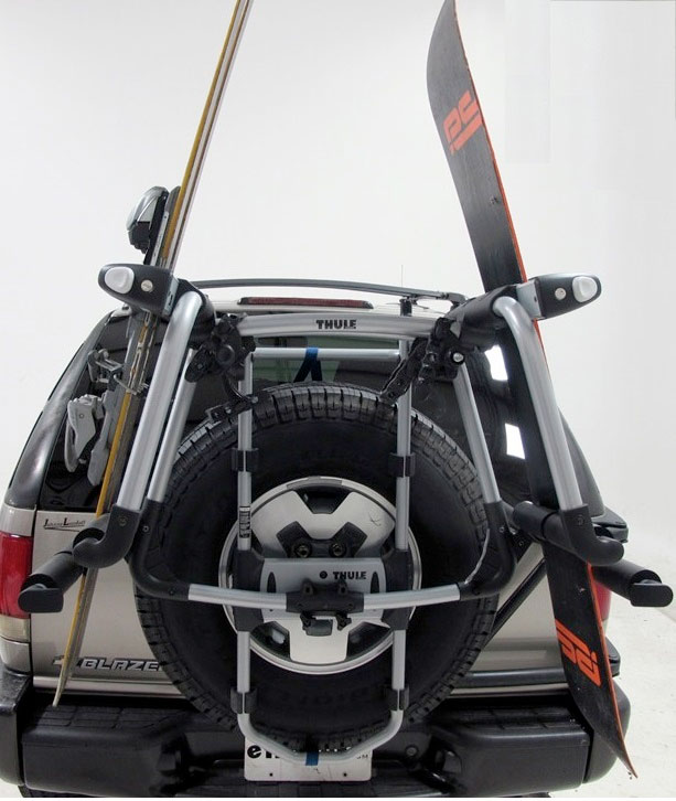 Ski Rack For Car >> Thule Tram Ski & Snowboard Carrier 9033 #THSC9033