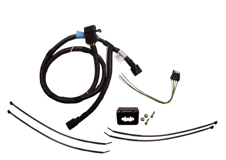 Trailer tow wire harness kit swb tjwireharness