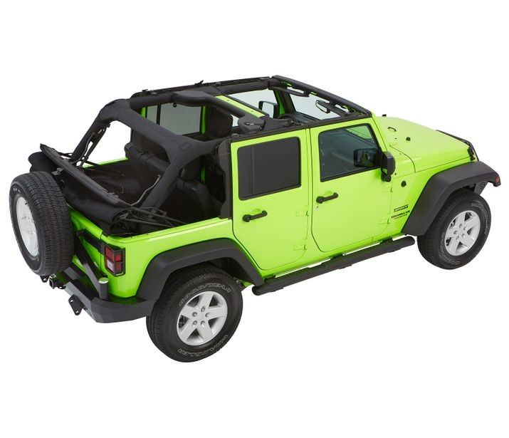 Bestop Trektop NX Glide Convertible Soft Top For Wrangler JK