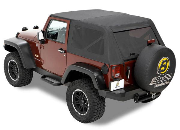 Jeep Soft Tops >> Trektop Soft Top For Jeep Wrangler Bestop B5680435 Or B5680535