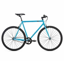 6ku fixie bike iris blue