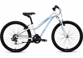 "Specialized Hotrock 24"" White 7-speed"