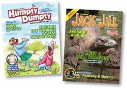 Award Winning U.S. Kids Magazines