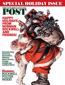 Happy Holidays from Norman Rockwell and Friends