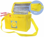 Sunface Insulated Cooler Tote Bag
