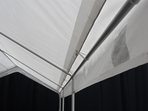 Garage Canopy With Enclosure Walls : Universal portable garage canopy with enclosure walls