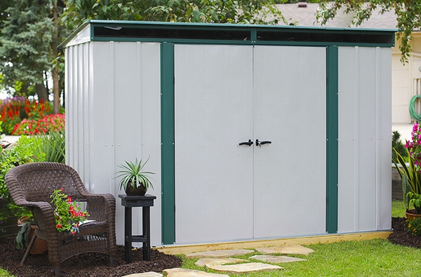 Arrow Euro Lite 10 X 4 Foot Storage Shed