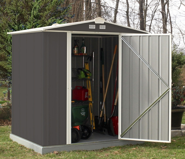 & Arrow EZEE Shed 6 x 5 Foot Storage Shed with Low Gable