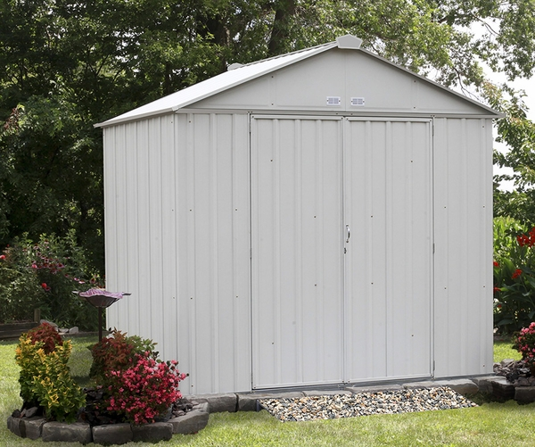 Arrow Ezee Shed 8 X 7 Foot Storage Shed With Extra High Gable