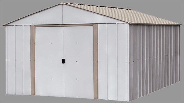 Arrow Newburgh 10 X 14 Foot Shed With Roof Strengthening Kit