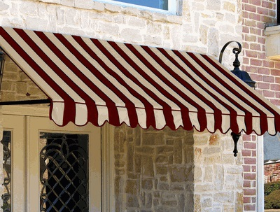 dallas retro window entry slope awning 3 feet