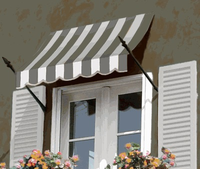 new orleans window entry slope awning 3 feet
