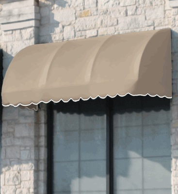 savannah window entry waterfall awning 3 feet