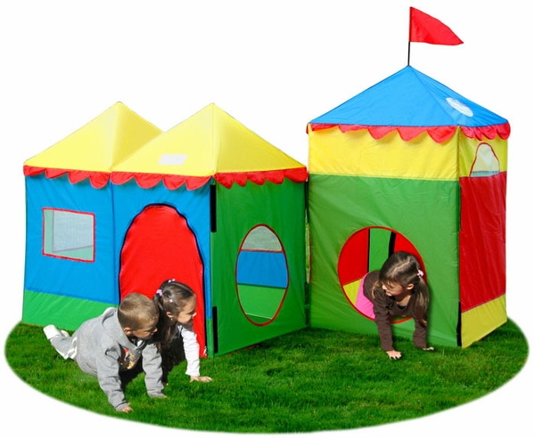 Camelot Village Children S Play Tent Set