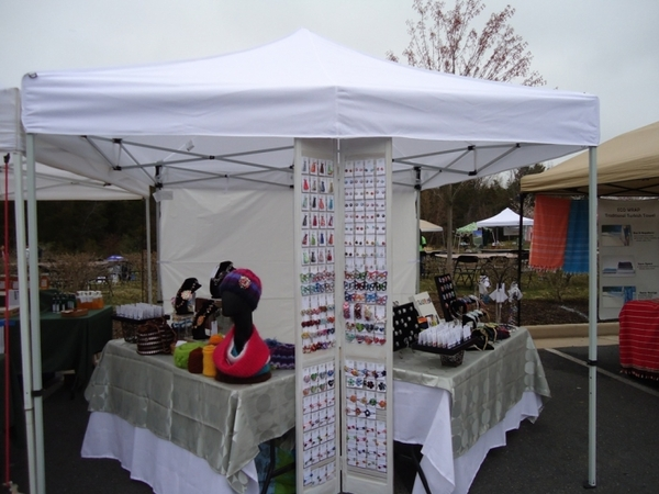 Caravan 10 x 10 Displayshade Canopy Value Package + 4 Sidewalls : display tents for craft fairs - memphite.com