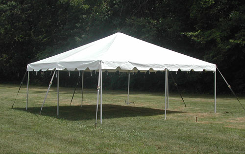 Celina 20 X 20 Classic Frame Tent With Galvanized Steel Poles And