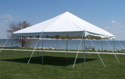 Celina 20 x 20 Presto! Over-the-Counter Pole Tent with White Top on door canopy, mobile home, bivouac shelter, bud light tent canopy, cantilever canopy, 10x20 canopy, tarp tent canopy, lights for tent canopy, 18 x 30 canopy, retractable canopy, sleeping bag,