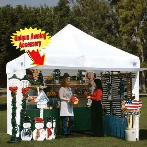 X  Easy Up Tent For Craft Fairs