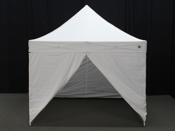 king canopy 10 foot x 10 foot tuff tent instant canopy with sidewalls