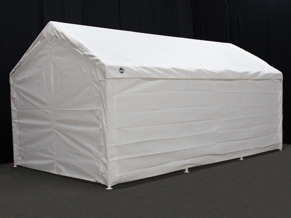 King Canopy 10 Foot x 20 Foot Hercules Enclosed Canopy Shelter & Canopy 10 Foot x 20 Foot Hercules Enclosed Canopy Shelter